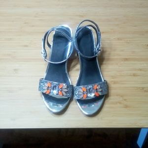 Asos Crystal Heeled Sandals
